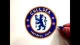 Как Красиво и Грамотно Нарисовать Логотип/Эмблему Челси