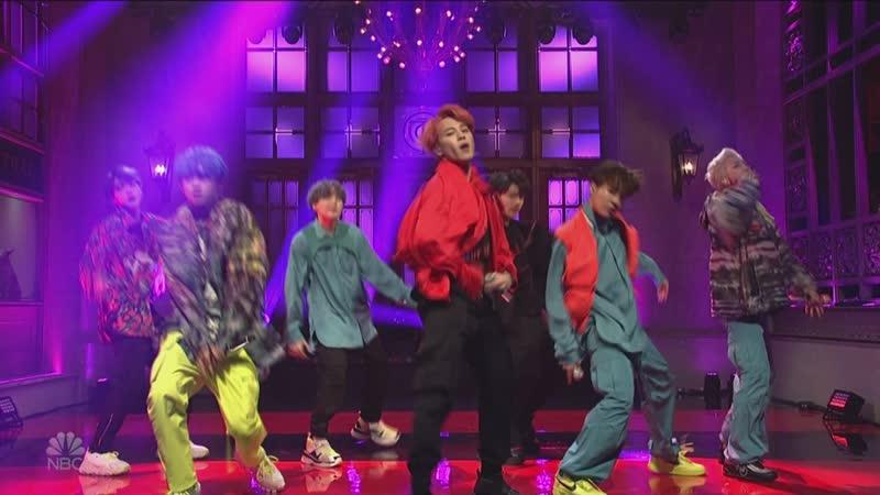 190413 BTS - Mic Drop - Saturday Night Live (S44E18) 1080i 24Mbps DTS-HD MA 5.1 H.264-ALANiS