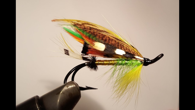 How to tie a classic salmon fly: Green Highlander