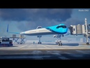 The Flying V prototype plane concept, backed by KLM Royal Dutch Airlines
