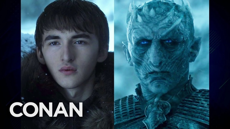 Isaac Hempstead Wright: Do I Really Look Like An Ancient Ice Zombie? - CONAN on TBS