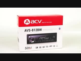 Обзор магнитолы ACV AVS-812BW