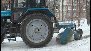 Госадмтехнадзор проверил уборку снега