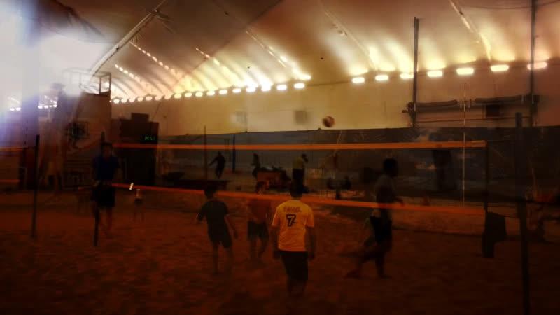 Волейбол на песочке