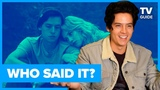 Riverdale Cast Plays WHO SAID IT Jughead or Emo Band