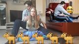 5 Minutes Camel Clutch on Girlfriend ... Again Regina _