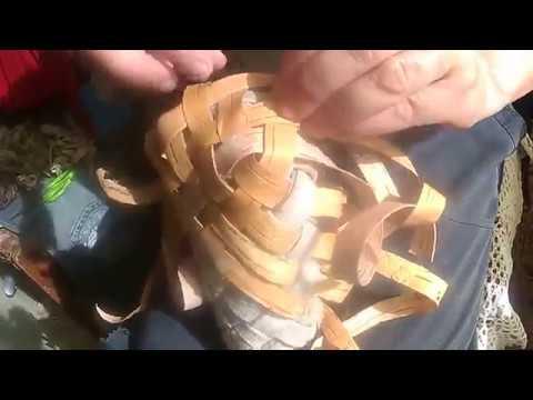 колодка бумажная береста начало плетения лаптей7