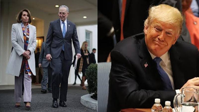 Trump Just B.lindsided Pelosi Schumer Overnight — They're Going To Be F.urious
