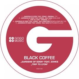 Black Coffee альбом Gardens of Eden / Trip to Lyon