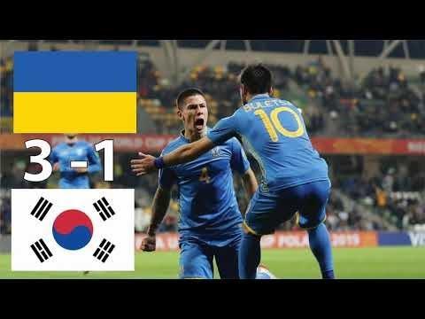 ФИНАЛ Чемпионат Мира U20 Украина - Южная Корея u20 ОБЗОР Матча 15.06.2019