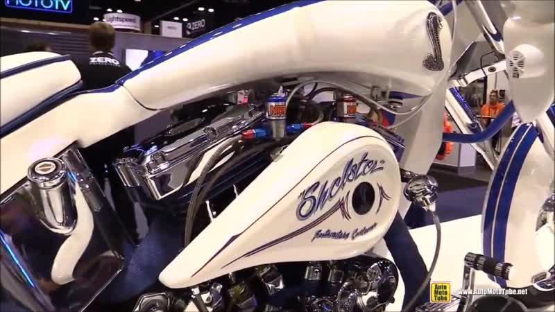 1990 Harley Davidson XL Trike customized by Southeast Customs - Walkaround - 201