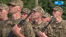 Чернигов: В Десне 2000 срочников приняли присягу
