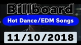 Billboard Top 50 Hot DanceElectronicEDM Songs (November 10, 2018)