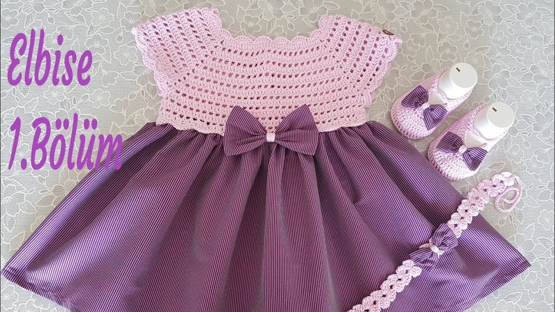 Yazlık Bebek elbisesi anlatımı 1.Bölüm