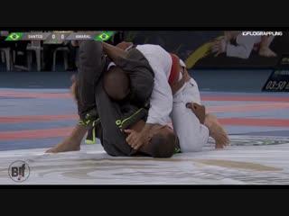 Marcelo Santos vs Carlos AmAral semifinal brown belts #ADGSRIO18