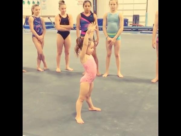 Zoey robertson Gymnástics evolution.