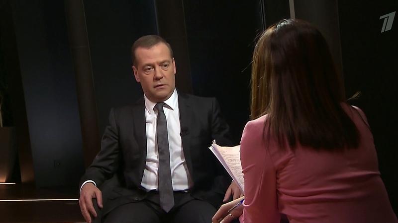 Дмитрий Медведев: Западные санкции против нашей страны больнее бьютименно поЕС. Новости. Первый канал