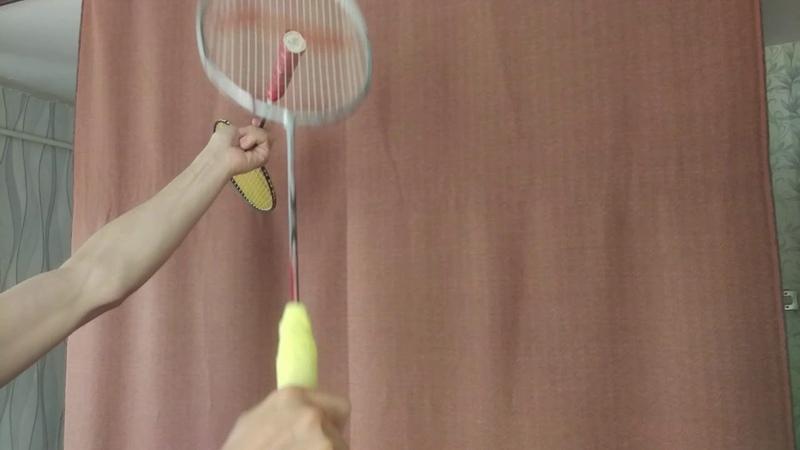 Тренировка дома. Смеш. Часть 3. Вторая ракетка. home traning. Smash. Second racquet.
