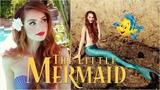 Ariel 'The Little Mermaid' Makeup &amp Hair Transformation Disney Princess Tutorial