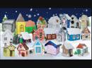 Выставка семейного творчества Снежная деревня группа Божьи коровки