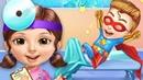 Superhéroe Hospital Juegos de Cuidado – Vestir Princesa Maquillaje Juegos de Cuidado para Niños