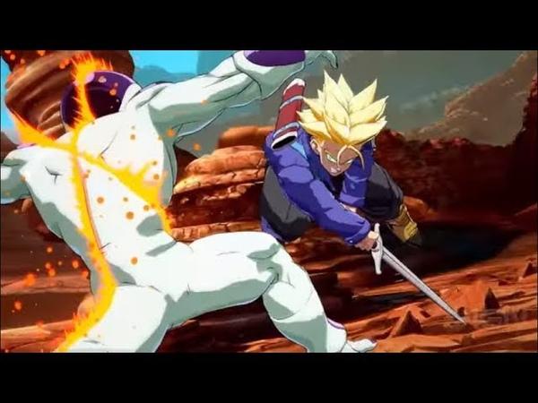 Dragon Ball FighterZ Dramatic Scene: Trunks Kills Frieza! (English Dub) - Johnic Adventure