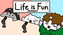 Bongo Cat - Life is Fun - Ft. TheOdd1sOut Boyinaband (Official Music Video PARODY)