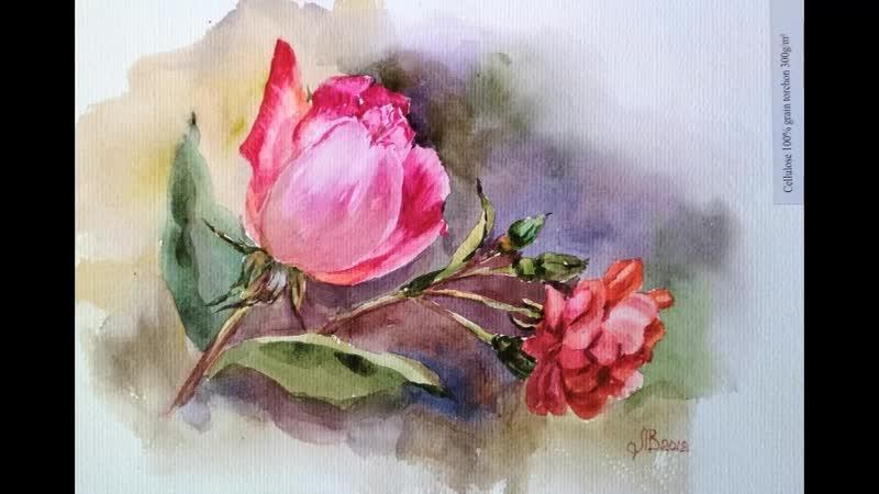 Розы на китайской бумаге 1