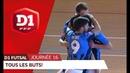 D1 Futsal, journée 16 : Tous les buts !