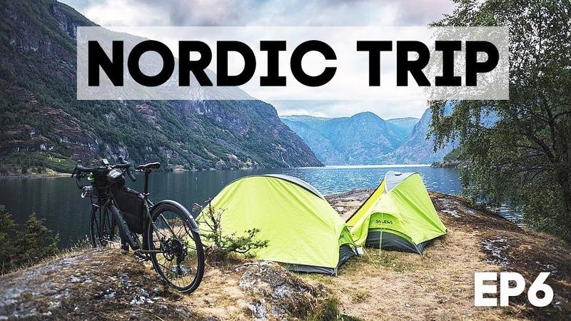 На велосипеде по Норвегии - каждый день новые горы! Nordic Trip - ep6