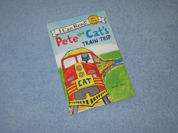 Pete The Cats Train Trip Childrens Read Aloud Story Book For Kids By James Dean