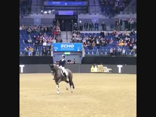 Valegro and Charlotte Dujardin at Theraplate UK Liverpool International Horse Show
