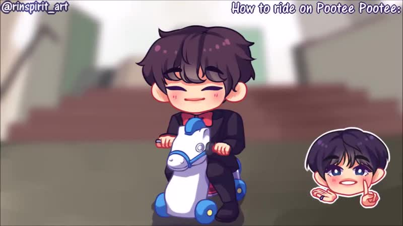 Ahhh another crudely done animation ;; Wonwoo with his beloved Pootee Pootee ;;;