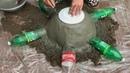 ❤️❤️❤️ DIY flower pots at home❤️❤️❤️ - ❤️❤️❤️Idea of making cement flower pots - Garden design ideas
