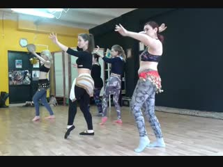Открытый урок: Belly Dance с Марией (06.01.2019)