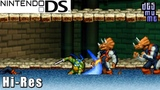 Teenage Mutant Ninja Turtles 3 Mutant Nightmare - Nintendo DS Gameplay High Resolution (DeSmuME)