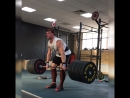 GoraCrossfit. Dead lift 210/3. Power clean 107/2