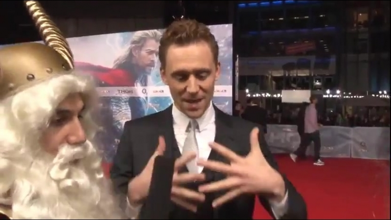 There is no Loki without Thor - Tom Hiddleston