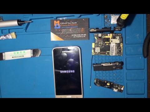 Разобрать Samsung J1 2016 J120F gold золотой. Заменить дисплей. Прямой эфир в одном из наших СЦ