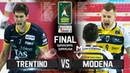 Modena vs. Trentino | FINAL GOLD MATCH (Highlights) Men Volleyball Super Cup 2018