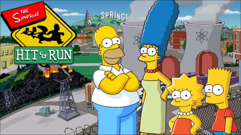 The Simpsons Hit and run.