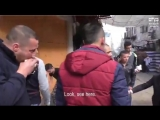#VIDEO Israeli soldier hits a Palestinian teen in the head with his gun in Hebron, occupied west bank.