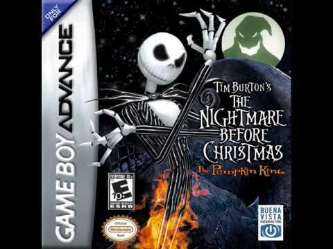 Tim Burton's The Nightmare Before Christmas (GBA Music 2005)
