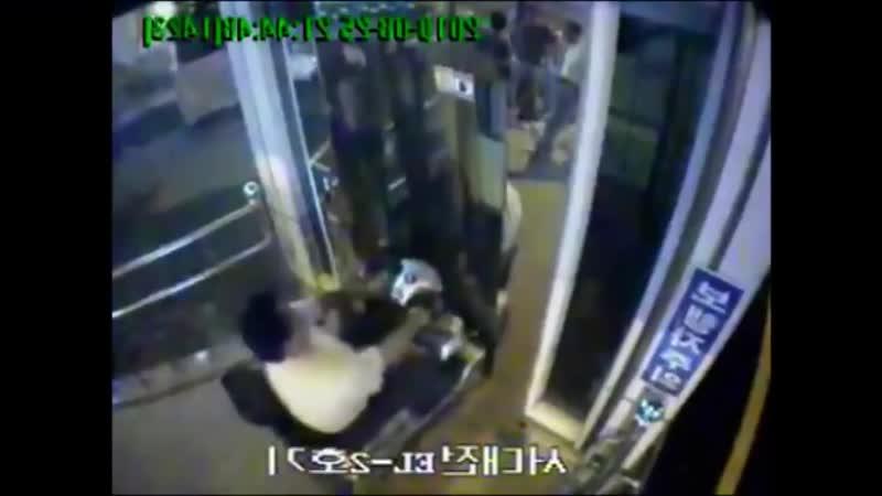 китаец инвалид против лифта