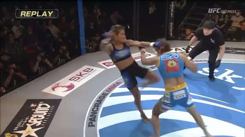 Pancrase 302 Raika Emiko vs. Edna Trakinas Oliveira HIGHLIGHTS
