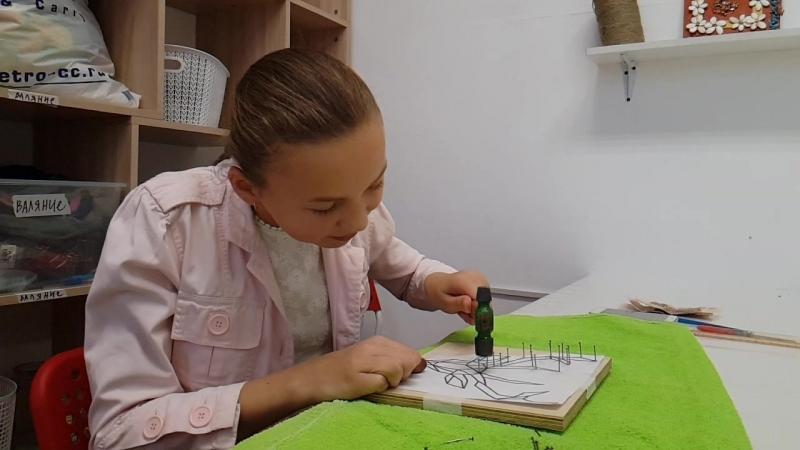 На мастер классе String Art (14.10.18)