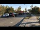 Вывалился стык на мосту Малиновского пробка
