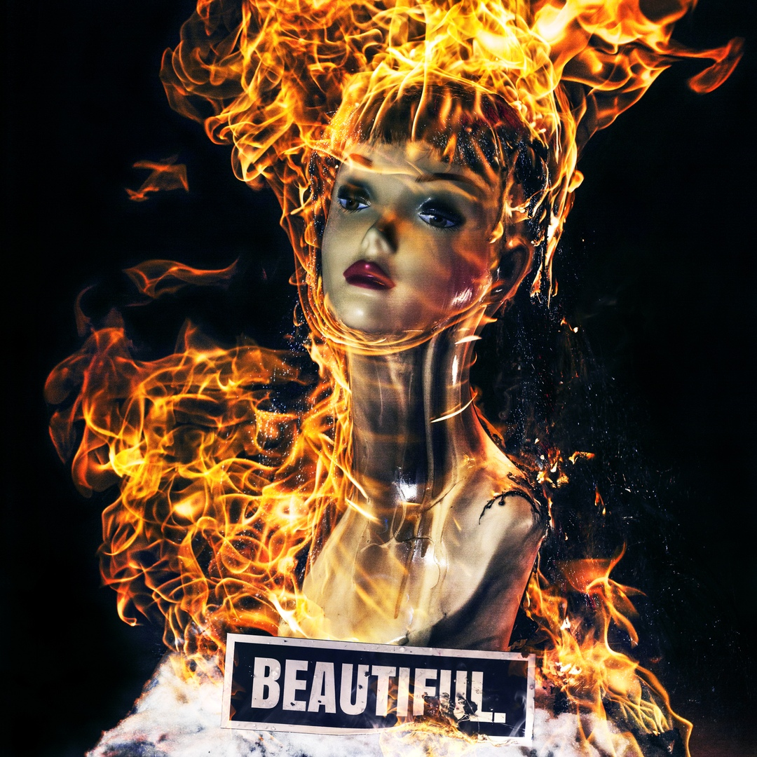 Афиша THE CROSSED - BEAUTIFUL.