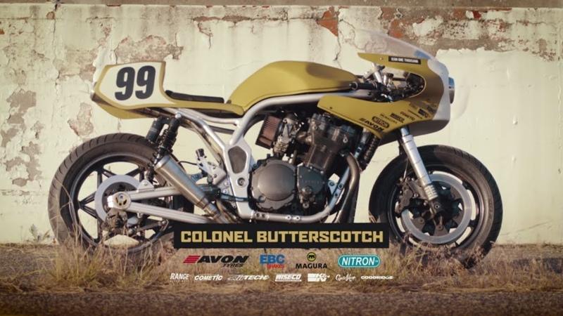 Colonel Butterscotch Icon 1000's sweet Suzuki Bandit