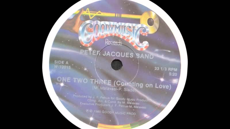 Counting On Love One Two Three Peter Jacques Band 1980 HQ